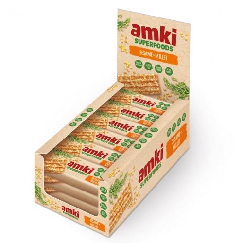 Sezamky AMKI SUPERFOODS s jáhly Unitop 33g