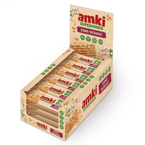 Sezamky AMKI SUPERFOODS s pohankou Unitop 33g