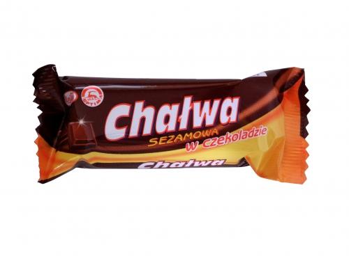 Chalva v čokoládě Agros 50g - 15ks